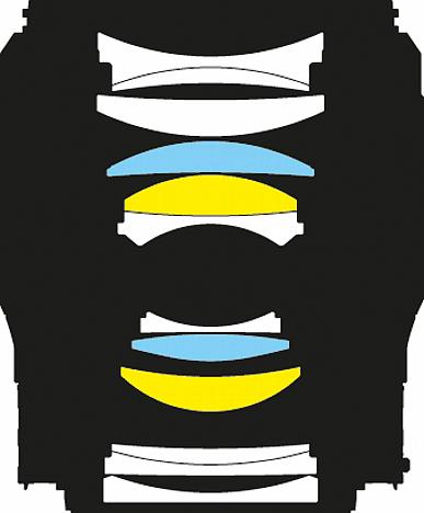 Bild Im aufwändigen optischen Aufbau des Nikon Z 50 mm 1:1,8 S kommen neben zwei asphärischen auch zwei ED-Linsen zum Einsatz. [Foto: Nikon]