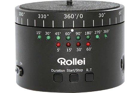 Bild Der Rollei ePano II 360 DSLR besitzt nur wenige Einstellmöglichkeiten, die alle jedoch schnell erlernt werden können. [Foto: Rollei]