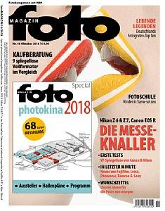 fotoMagazin 10/2018. [Foto: Jahr Top Special Verlag]