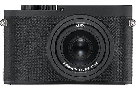 Bild Leica pinselt die Q (Typ 116) mattschwarz an, was das Q-P getaufte Modell unauffälliger machen soll. [Foto: Leica]