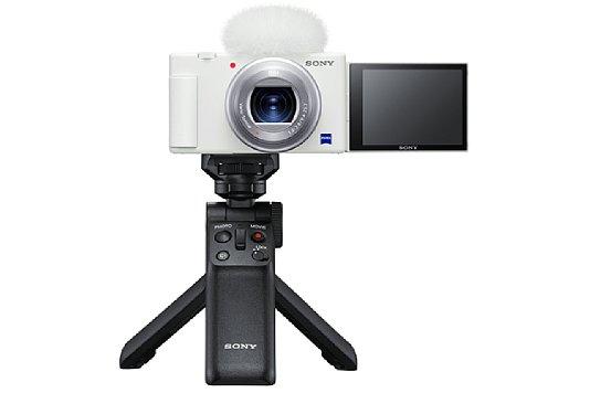 Bild Sony ZV-1 mit Sony GP-VPT2BT. [Foto: Sony]