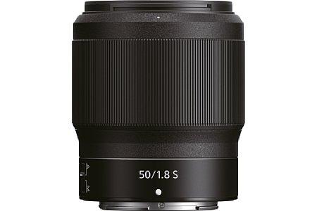 Bild Das Nikon Z 50 mm 1:1,8 S wird das dritte S-Line-Objektiv für die Z 6 und Z 7, es kommt aber erst Ende Oktober 2018 auf den Markt. [Foto: Nikon]
