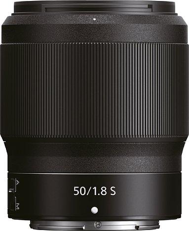 Bild Das Nikon Z 50 mm 1:1,8 S besitzt einen mit vier Zentimetern besonders breiten Multifunktionsring. [Foto: Nikon]