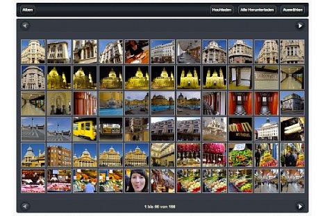 Bild PhotoSync Desktop: Vom PC/Mac kann das iPad direkt aufgerufen werden. Fotos und Videos lassen sich sowohl herunterladen, als auch auf das iPad kopieren. [Foto: Ralf Spoerer]