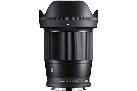 Sigma 16 mm F1,4 DC DN Contemporary. [Foto: Sigma]