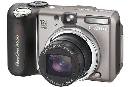 Canon Powershot A650 IS [Foto: Canon Deutschland]