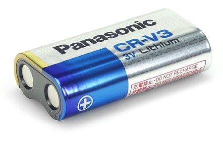 Batterie Panasonic CR-V3 [Foto: Imaging One]