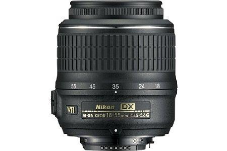 Nikon 18-55mm 3.5-5.6 VR [Foto: Nikon]