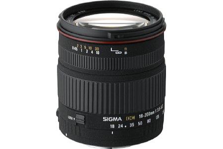 Sigma 18-200mm F3,5-6,3 DC [Foto: Sigma]