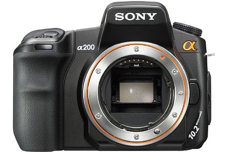 Sony Alpha 200 [Foto: Sony]