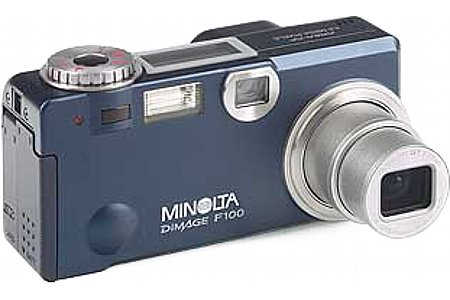 Digitalkamera Minolta Dimage F100 [Foto: Minolta]