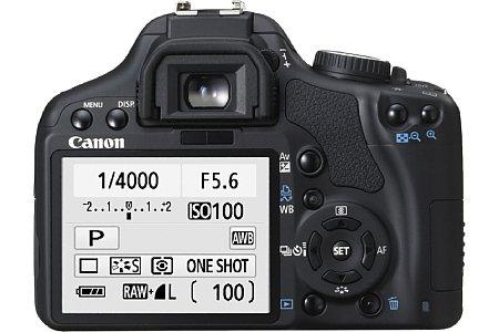 Canon EOS 450D mit Objektiv EF S 18-55mm IS [Foto: Canon]