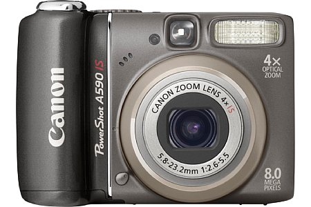 Canon PowerShot A590 IS [Foto: Canon]