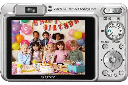 Sony Cyber-shot DSC-W150 [Foto: Sony]