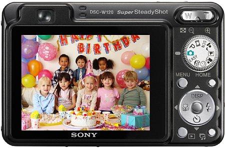 Sony Cyber-shot DSC-W120 [Foto: Sony]