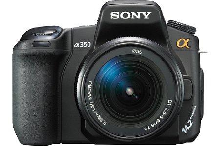 Sony Alpha 350 [Foto: Sony]