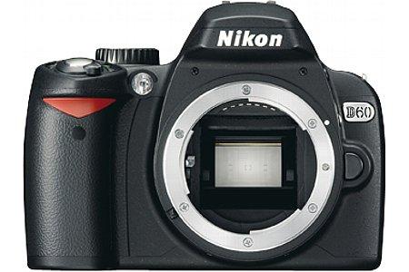 Nikon D60 Schwarz [Foto: Nikon Deutschland]