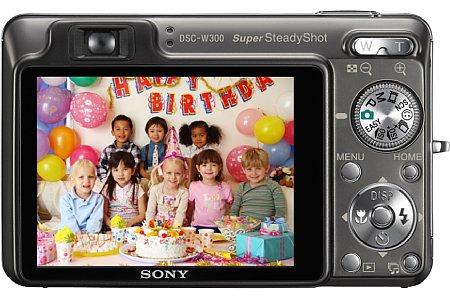 Sony Cyber-shot DSC-W300 [Foto: Sony]