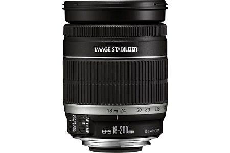 Canon EF-S 18-200 mm f3.5-5.6 IS [Foto: Canon]