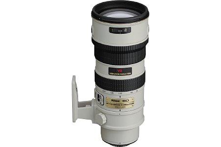 Nikon AF-S G ED VR 2.8 70-200 mm schwarz [Foto: Nikon]