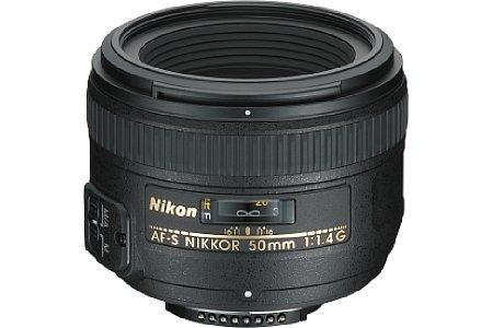 Nikon 50 mm 1.4 AF-S [Foto: Nikon]