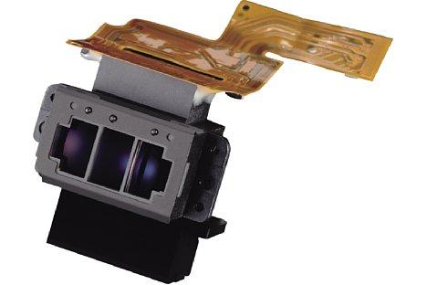 Bild Das Autofokusmodul, hier dasMulticam3500FX der Nikon D3x und D4S, sitzt bei einer DSLR unten im Gehäuse. [Foto: Nikon]