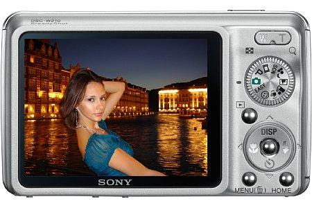 Sony Cyber-Shot DSC W210 [Foto: Sony]