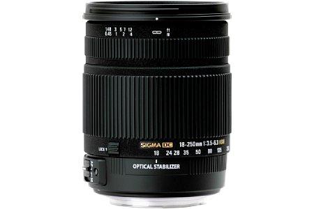 Sigma 18-250 mm F3.5-6.3 DC OS HSM [Foto: Sigma]