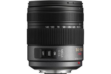 Panasonic Lumix G Vario HD 14-140mm F4.0-5.8 ASPH. [Foto: Panasonic]
