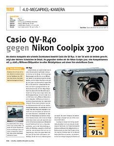 'Casio QV-R40 gegen Nikon Coolpix 3700' von DigitalKamera-Magazin [Foto: DigitalKamera-Magazin]