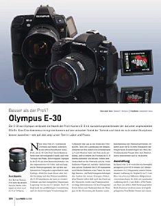 Paid-Content DigitalPhoto 4-2009 Test Olympus E-30 [Foto: DigitalPHOTO]