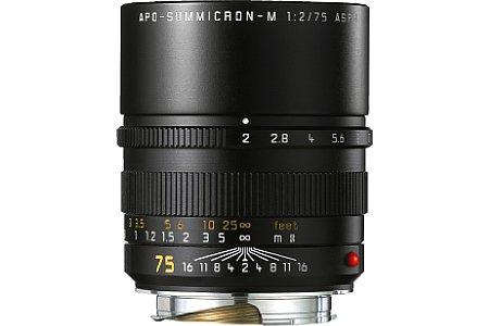 Leica Apo-Summicron-M 1:2/75mm ASPH [Foto: Leica]
