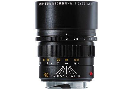 Leica Apo-Summicron-M 1:2/90mm ASPH [Foto: Leica]