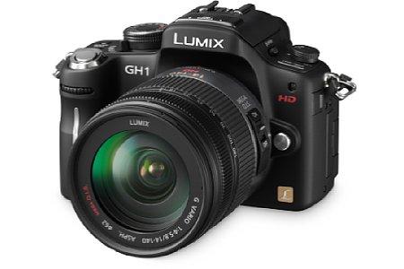 Panasonic Lumix DMC-GH1. [Foto: Panasonic]