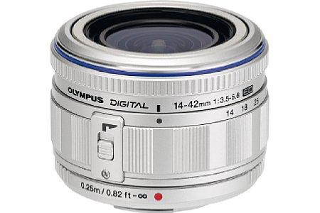 Olympus M Zuiko Digital ED 14-42mm 3.5-5.6 schwarz (EZ-M1442) [Foto: Olympus]
