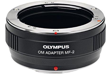 Bild Den Micro FourThirds OM Adapter MF-2 bietet Olympus für knapp 200 Euro an. [Foto: Olympus]