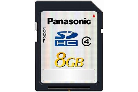 Panasonic SDHC Class 4 mit 4 GB, 8 GB und 16 GB [Foto: Panasonic]