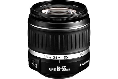 Canon EF-S 18-55 mm II [Foto: Canon]
