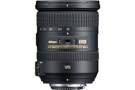 Nikon AF-S DX Nikkor 18-200mm F3.5-5.6 G ED VR II [Foto: Nikon]