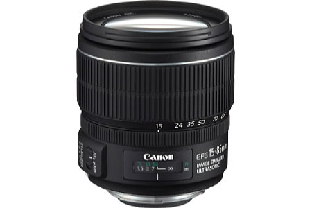 Canon EF-S 15-85 mm f3.5-5.6 IS USM [Foto: Canon]