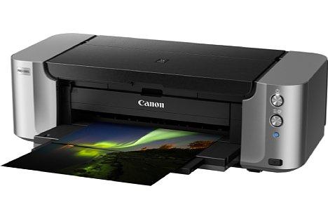 Bild Der Canon Pixma Pro-100S kann Fine Art-Papiere bis zu einem Flächengewicht von 350 g/m² bedrucken. [Foto: Canon]