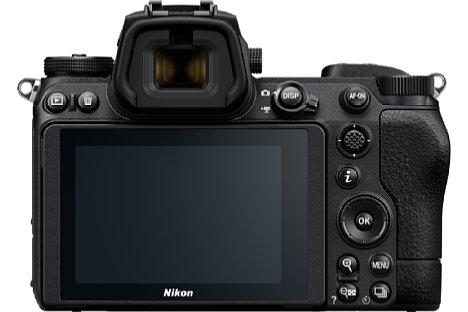 Bild Die Rückseite der Nikon Z 6II und Z 7II ist identisch, sogar mit den Vorgängermodellen. Beim Sucher und Touchscreen gibt es ebenfalls keine Unterschiede. [Foto: Nikon]