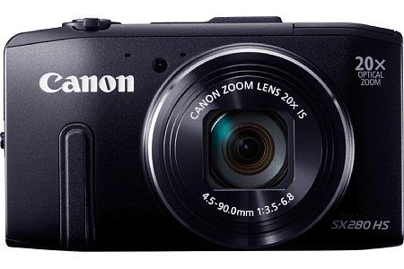 Bild Im Gegensatz zur technisch ansonsten identischen SX270 HS bietet die Canon PowerShot SX280 HS ein integriertes GPS mit Loggerfunktion. [Foto: Canon]