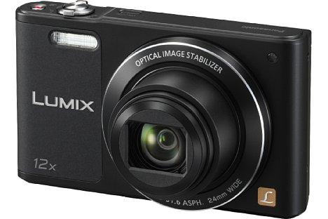 Bild ... sowie in Schwarz erhältlich sein. Ab März steht die Panasonic Lumix DMC-SZ10 bei den Händlern im Regal. [Foto: Panasonic]