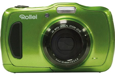 Bild Ab Juli 2015 soll die Rollei Sportsline 100 in Blau, Grün und Orange für knapp 130 Euro erhältlich sein. [Foto: Rollei]