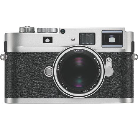 Bild Die Leica M Monochrom gibt es nun auch in einer silbern verchromten Ausführung, zumindest in begrenzter Stückzahl. [Foto: Leica]