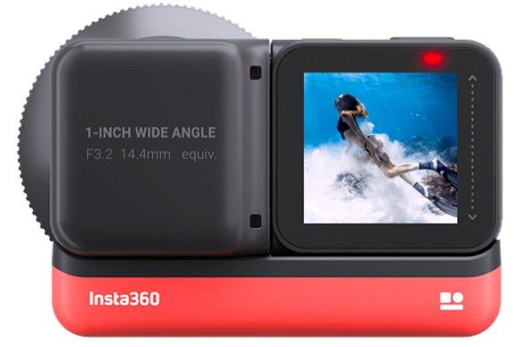 Bild Insta360 One R mit 1-Inch Edition (Rückansicht). [Foto: Insta360]