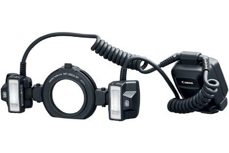 Bild Canon Macro Twin-Lite MT-26EX-RT. [Foto: Canon]