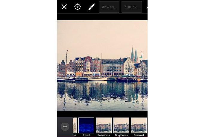 Bild PicsArt Sättigung, Helligkeit, Kontrast [Foto: MediaNord]