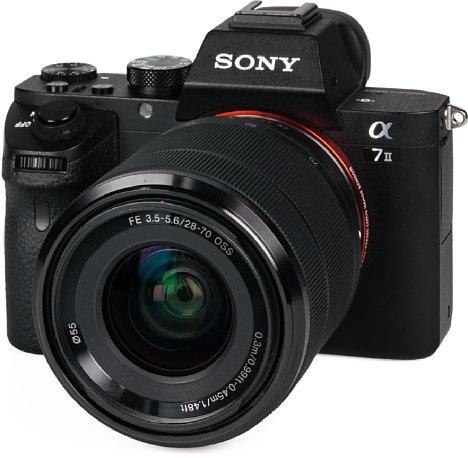 Bild Sony Alpha 7 II mit 28-70 mm. [Foto: MediaNord]
